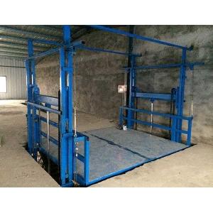 液压升降货梯厂家分享检修四轮车式液压平台的注意事项