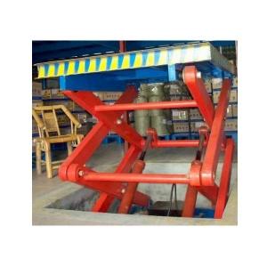 听升降货梯厂家讲述剪叉式升降货梯的设备优势
