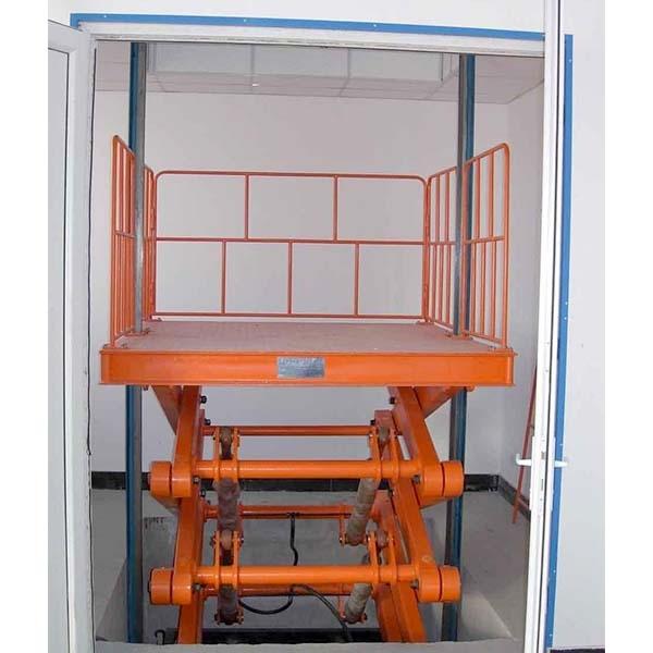 固定式剪叉式升降货梯