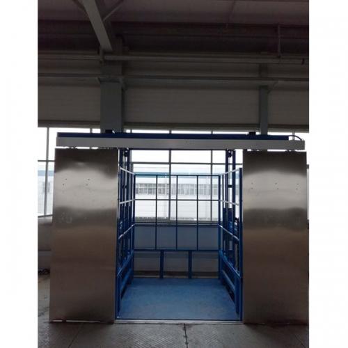 导轨式升降货梯生产