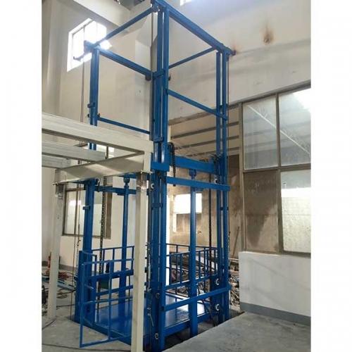 导轨升降货梯生产